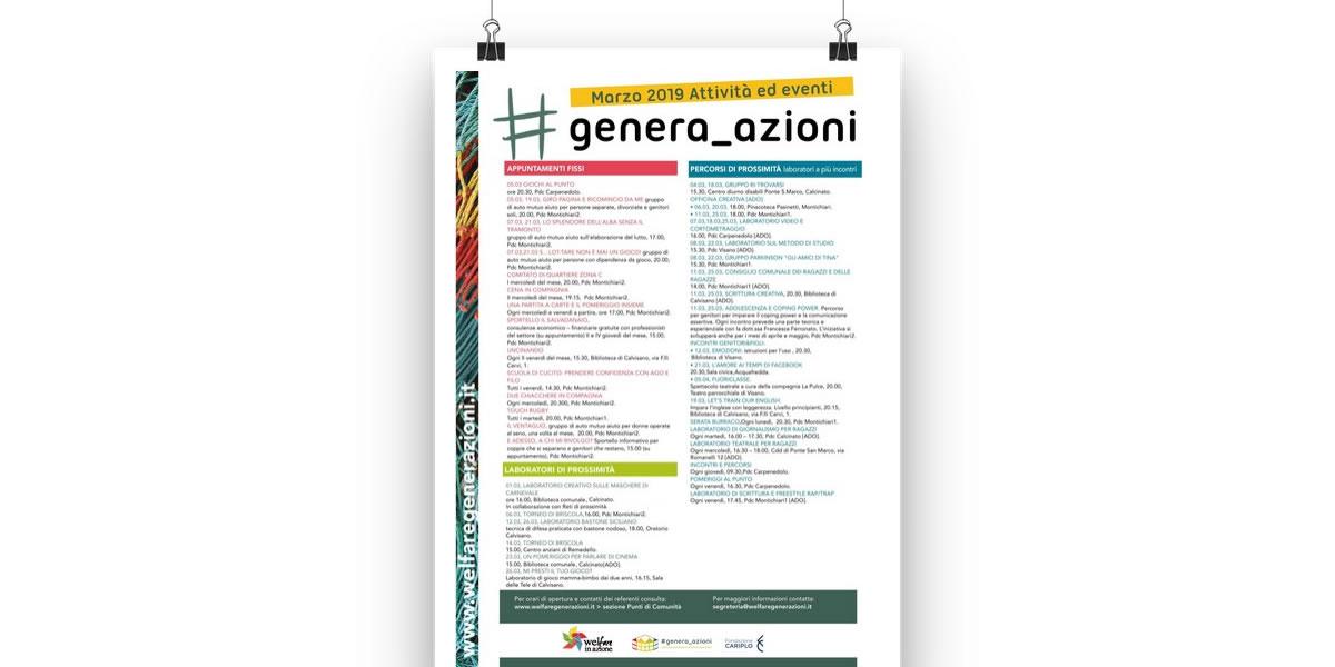 Calendario Di Marzo.Laboratori Percorsi Ed Eventi Del Mese Di Marzo